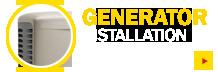 Generator sales and installation